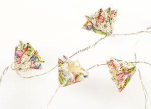 Lichterkette Micá – Ornamentpapier